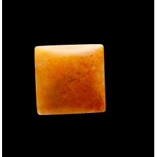 Yellow Jasper 15mm Square Gemstone Cabochon