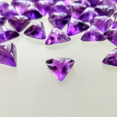 Amethyst 9mm Triangular Cabochon
