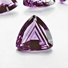 Amethyst 16.5x16mm Trillion Cut Gemstone