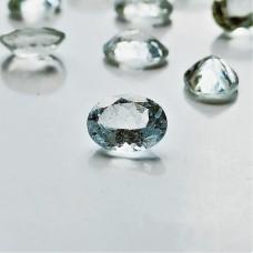 Aquamarine 9x7mm Oval Faceted Gemstone