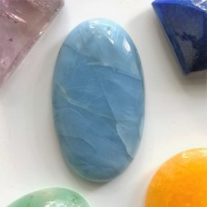 Blue Opal 35x20mm Oval Cabochon