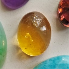 Citrine 18x14mm Oval Cabochon