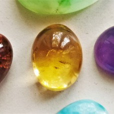 Citrine 15x12mm Oval Cabochon
