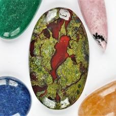 Dragon Blood Jasper 41x25mm Oval Cabochon
