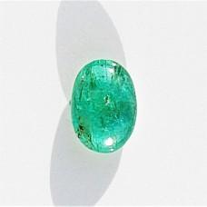 Emerald 6.8x4.7mm Oval Cabochon