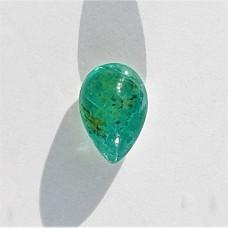 Emerald 6.8x4.7mm Drop Cut Cabochon