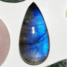Labradorite 24x12mm Drop Cut Cabochon