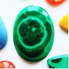 Malachite  37x27mm Oval Cabochon