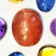 Sunstone 20x16mm Oval Cabochon