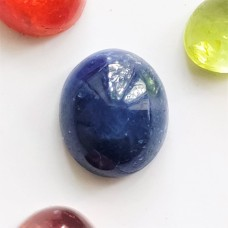Sapphire 8.6x6.6mm  Oval Cabochon