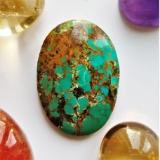Turquoise (Persian) 24x17mm Oval Cabochon