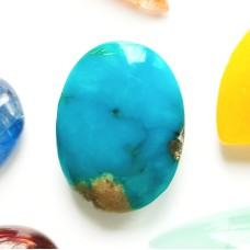 Turquoise 16x12mm Oval Cabochon