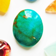 Turquoise 16x13mm  Oval Cabochon
