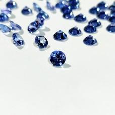 Tanzanite 4mm Round Faceted Gemstone