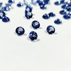 Tanzanite 4mm Round Faceted Gemstone x 4