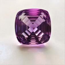 Amethyst 13.5mm Square Fantasy Cut Gemstone