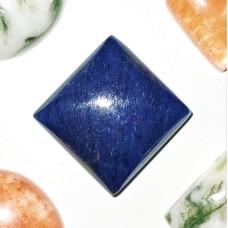 Blue Aventurine 15mm Square Cabochon