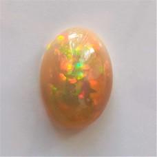 Opal (Ethiopian) 13.2x9.5mm Oval Cabochon