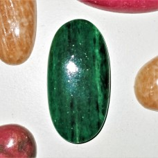 Green Aventurine 30x15mm Oval Cabochon