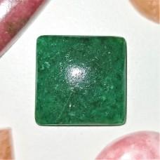 Green Aventurine 15mm Square Cabochon