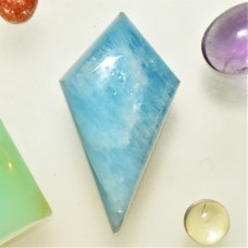 Aquamarine 31x21mm Kite Cut Cabochon