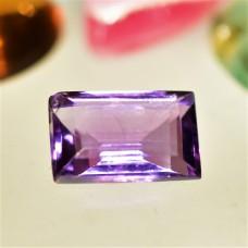 Amethyst 11x7mm Rectangular Faceted Gemstone
