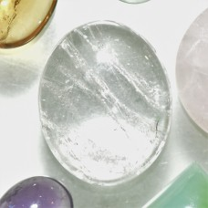Quartz Crystal 26x21mm Oval Cabochon