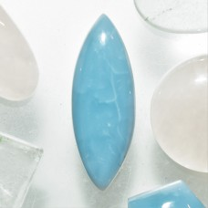 Blue Opal 30x10mm Marquise Cut Cabochon