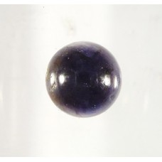 Iolite 12mm Round Gemstone Cabochon