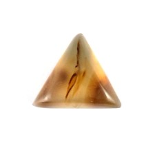 Botswana Agate 12mm Triangular Loose Gemstone Cabochon
